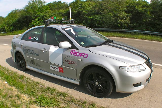 GCDC - Team Latvia - Mazda 6